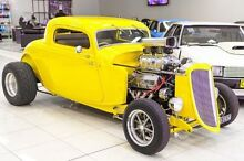 1934 Ford Hot Rod . Yellow Automatic Carss Park Kogarah Area Preview