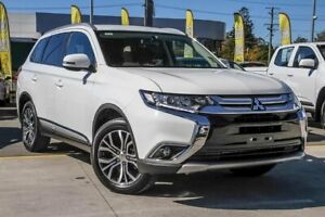 2017 Mitsubishi Outlander ZK MY17 LS 2WD White 6 Speed Constant Variable Wagon Aspley Brisbane North East Preview