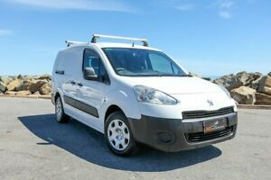 2013 Peugeot Partner B9P MY12 L2 Low Roof MWB White 5 Speed Manual Van Lonsdale Morphett Vale Area Preview