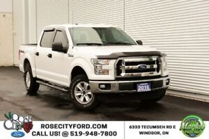 2016 Ford F-150 XLT / 4x4 / Accident Free / Bluetooth