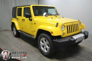 2015 Jeep Wrangler Unlimited Sahara 4x4 Only 28K