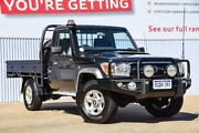 2014 Toyota Landcruiser VDJ79R GXL Grey 5 Speed Manual Cab Chassis Morley Bayswater Area Preview
