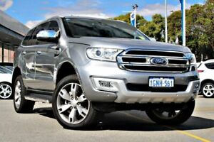 2018 Ford Everest UA 2018.00MY Titanium Silver 6 Speed Sports Automatic Wagon Midland Swan Area Preview