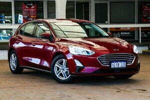 2019 Ford Focus SA 2019.25MY Trend Red 8 Speed Automatic Hatchback Melville Melville Area Preview