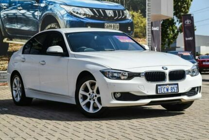 2013 BMW 320d F30 MY0813 White 8 Speed Sports Automatic Sedan Morley Bayswater Area Preview
