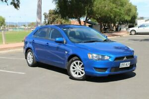 2011 Mitsubishi Lancer CJ MY11 SX Sportback Blue 6 Speed Constant Variable Hatchback Nailsworth Prospect Area Preview