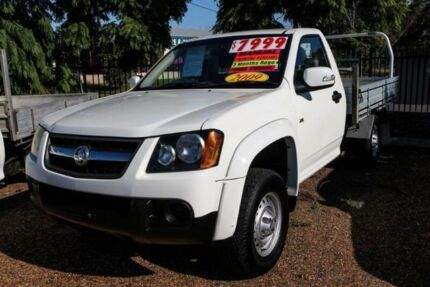 2009 Holden Colorado RC MY09 LX White 5 Speed Manual Cab Chassis Minchinbury Blacktown Area Preview