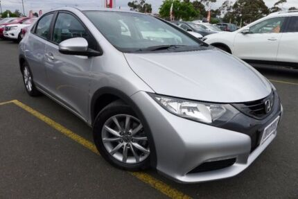 2012 Honda Civic 9th Gen VTi-S Silver 6 Speed Manual Hatchback Hoppers Crossing Wyndham Area Preview