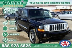 2010 Jeep Commander Sport - Wholesale Unit, No PST! w/Leather