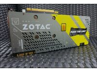 Zotac GTX 1070 AMP EXTREME edition - NEW - no box