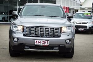 2012 Jeep Grand Cherokee WK MY2012 JET Mineral Grey 5 Speed Sports Automatic Wagon