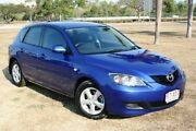 2008 Mazda 3 BK10F2 Neo Blue 5 Speed Manual Hatchback Townsville Townsville City Preview
