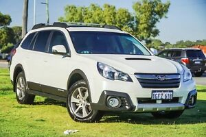 2014 Subaru Outback B5A MY14 2.0D Lineartronic AWD Premium White 7 Speed Constant Variable Wagon Wangara Wanneroo Area Preview