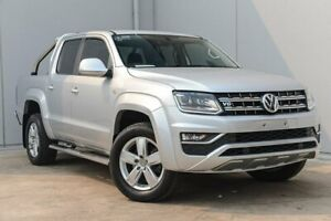 2017 Volkswagen Amarok 2H MY17.5 TDI550 4MOTION Perm Highline Silver 8 Speed Automatic Utility