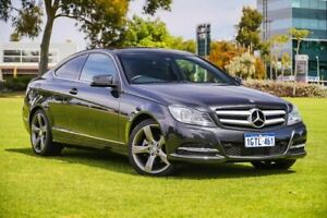 2012 Mercedes-Benz C-Class C204 MY13 Black 7 Speed Sports Automatic Coupe Burswood Victoria Park Area Preview