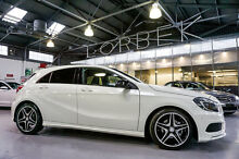 2014 Mercedes-Benz A200 176 MY14 BE White 7 Speed Automatic Hatchback Port Melbourne Port Phillip Preview