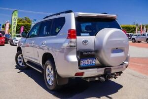 2012 Toyota Landcruiser Prado KDJ150R Altitude Silver 5 Speed Sports Automatic Wagon