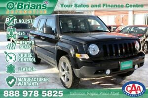 2017 Jeep Patriot Sport Altitude II - No PST! w/Mfg Warranty
