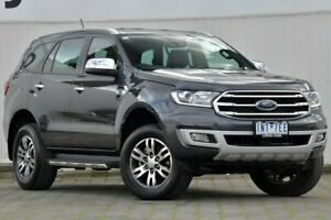 2018 Ford Everest UA II 2019.00MY Titanium 4WD Grey 10 Speed Sports Automatic Wagon Dandenong Greater Dandenong Preview