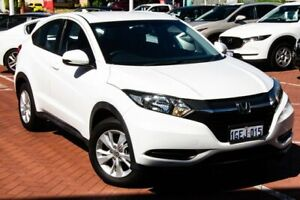 2016 Honda HR-V MY16 VTi White 1 Speed Constant Variable Hatchback Myaree Melville Area Preview