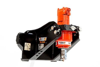 Mini Skid Steer Auger Ml-2500 For Mini Universal - Toro Vermeer Ditch Boxer