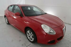 2013 Alfa Romeo Giulietta Series 0 MY13 Progression TCT JTD-M Red 6 Speed Hamilton North Newcastle Area Preview