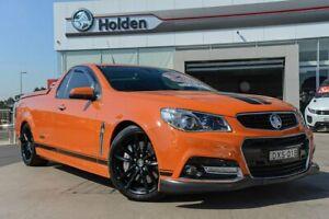 2014 Holden Ute VF MY14 SS V Ute Redline Fantale Orange 6 Speed Manual Utility