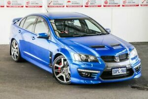 2010 Holden Special Vehicles GTS E2 Series Blue 6 Speed Auto Active Sequential Sedan