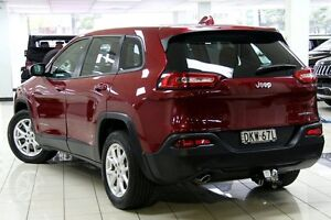2014 Jeep Cherokee KL Sport (4x2) Red 9 Speed Automatic Wagon Chatswood West Willoughby Area Preview