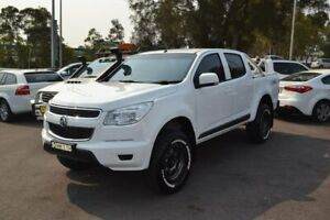 2016 Holden Colorado RG MY16 LS Crew Cab White 6 Speed Manual Utility Maitland Maitland Area Preview