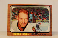 1966-67 Topps No 112 Bobby Hull Left wing