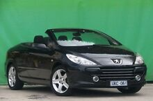 2006 Peugeot 307 T6 CC Dynamic Grey 4 Speed Sports Automatic Cabriolet Ringwood East Maroondah Area Preview