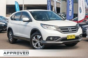 2014 Honda CR-V RM MY15 VTi White 5 Speed Automatic Wagon Brookvale Manly Area Preview