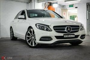2015 Mercedes-Benz C250 W205 7G-Tronic + White 7 Speed Sports Automatic Sedan Ryde Ryde Area Preview