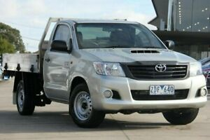 2012 Toyota Hilux Silver Manual Utility