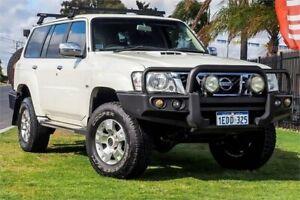 2011 Nissan Patrol GU 7 MY10 ST White 4 Speed Automatic Wagon Wangara Wanneroo Area Preview