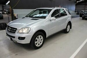 2006 Mercedes-Benz ML320 CDI W164 Luxury Silver 7 Speed Sports Automatic Wagon Maryville Newcastle Area Preview