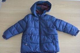 Next baby boy winter jacket