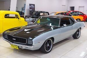 1969 Chevrolet Camaro  Silver 4 Speed Automatic Coupe Carss Park Kogarah Area Preview