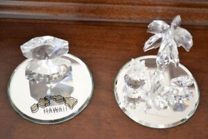 Two Crystal Ornaments from Hawaii