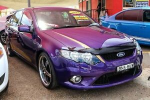 2009 Ford Falcon FG XR6 Turbo Purple 6 Speed Sports Automatic Sedan Colyton Penrith Area Preview
