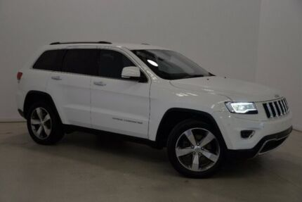 2013 Jeep Grand Cherokee WK MY2013 Limited White 5 Speed Sports Automatic Wagon Mansfield Brisbane South East Preview