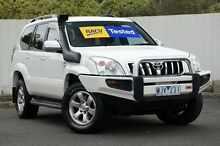 2008 Toyota Landcruiser Prado  White Automatic Wagon Lilydale Yarra Ranges Preview