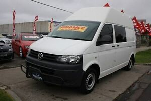 2010 Volkswagen Transporter T5 MY11 Low Roof LWB White 5 Speed Manual Van Altona North Hobsons Bay Area Preview