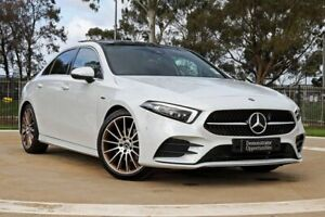 2019 Mercedes-Benz A-Class V177 A200 DCT White 7 Speed Sports Automatic Dual Clutch Sedan Melbourne Airport Hume Area Preview