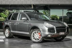 2003 Porsche Cayenne 9PA Turbo Silver 6 Speed Sports Automatic Wagon