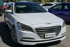 2014 Hyundai Genesis DH Ultimate Pack White 8 Speed Sports Automatic Sedan Phillip Woden Valley Preview