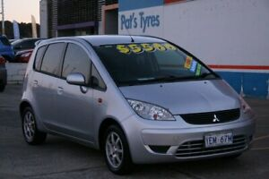 2008 Mitsubishi Colt RG MY08 ES Silver Continuous Variable Hatchback Fyshwick South Canberra Preview