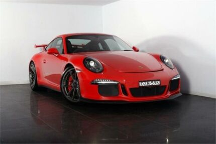 2015 Porsche 911 991 MY15 GT3 Guards Red Sports Automatic Dual Clutch Coupe Artarmon Willoughby Area Preview