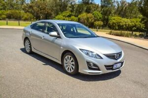 2012 Mazda 6 GH1052 MY12 Touring Silver 5 Speed Sports Automatic Hatchback Cannington Canning Area Preview